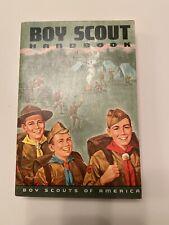 1972 BOY SCOUT HANDBOOK 1st PRINTING VINTAGE BOY SCOUT 8th EDITION
