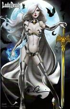 LADY DEATH MOMENTS #1 CRYSTAL JEWELED VARIANT  BILL TUCCI COVER & SIGNED PULIDO