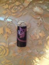 Designer Acrylic Nail Tip Playboy Rabbit Bunny Pink White on Black 70 pcs