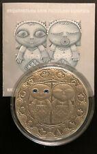 Belarus Silver Coin 20 Rubles 2009 Zodiac Sign Gemini