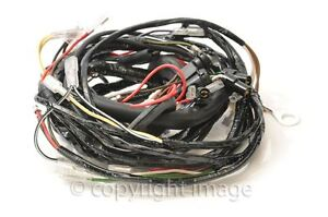 Triumph T120 TR6 T140 Bonneville Wiring Harness 1973-74, UK Made