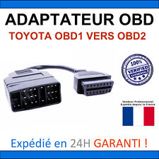 Adaptateur TOYOTA 22 broches vers OBD2 Compatible Delphi Autocom ELM327 KTS