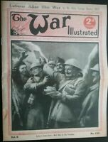 1917 WW I , THE WAR ILLUSTRATED ,16 PAGES OF PHOTO'S & FEATURES OF LIFE & DEATH