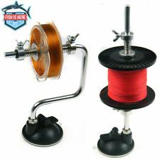 Portable Aluminum Fishing Line Winder Reel Spooler System Tackle Fishing Tools