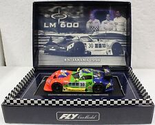 FLY A27 MARCOS LM600 4 HOURS JARAMA 1998 NEW 1/32 SLOT CAR IN DISPLAY CASE