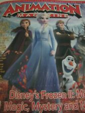 Frozen 2 Elsa + all cast  Rare Animation Cover OSCAR AD Brand New