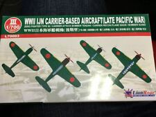 1/700 Lion Roar WWII IJN Carrier Based Aircraft (Late Pacific War)
