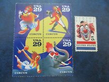 Circus Stamps