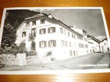 Postcard Hotel Steinbok Pontresina Switzerland 1951