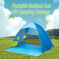 Portable Instant Pop Up Beach Canopy UV Sun Shade Shelter Outdoor Camping Tent