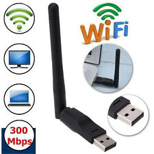 150Mbps USB 802.11n Wi-Fi Ethernet Wireless Adapter Card with 2dbi HG Antenna