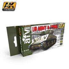 AK Interactive-US Army & USMC Colores Verde Pintura Set AK04210
