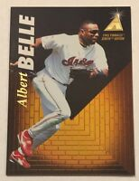 1995 Pinnacle Zenith ALBERT BELLE Cleveland Indians 1