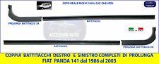 Battitacco Fiat Panda 141  Batticalcagno + Prolunghe Coppia DX- SX  kit set 2