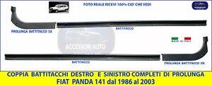 Battitacco Fiat Panda 141  4X4 Batticalcagno + Prolunghe Coppia DX- SX  kit 2