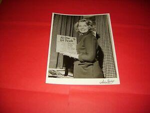 Joan Regan 1956 Original Black & White Publicity Photograph