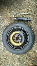 """FORD KA 2009-2018 SPACE SAVER 14"""" SPARE WHEEL & TYRE,JACK AND SPANNER KIT"""