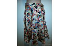 SIZE 10 LADIES FLORAL VINTAGE 1970's A SHAPED SKIRT AS NEW