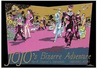 JOJO's Bizarre Adventure EXHIBITION B2 Poster Part4 Diamond is unbreakable 2018