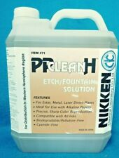 NIKKEN #71 PP CLEAN H ETCH/FOUNTIAN SOLUTION ONE GALLON NEW