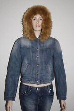 M jeansjacken mit Knöpfen