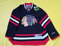 Chicago Blackhawks Jersey mens small BLACK reebok men S Limited Stadium Series