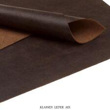 Rindleder Antik Design 1,4 mm Dick A4 Format Braun Echt Leder 47