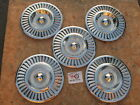 1957 Ford Thunderbird 14 Wheel Covers Hubcaps Lot Of 5 Oem