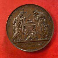 #5077 - Médaille des funérailles du duc de Berry 1820 SPL