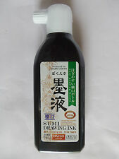 New Japanese Calligraphy Shodo Writing Ink BOKUEKI SUMI 180ml Made in Japan