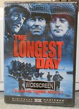 The Longest Day (DVD 1999) RARE HENRY FONDA JOHN WAYNE ROBERT MITCHUM BRAND NEW