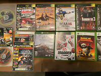 Microsoft Xbox Video Game Lot (8+Games) 5 XBox , 2 Xbox 360 And 1 Xbox One +