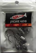 10  Size 3/0,  5/8 OZ  Jig Heads  High Chemically Sharpened Hooks Fishing Tackle