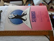 "Broadway  Window Card /Poster, Stardust, Mitchell Parish Musical, 1986 22"" - 14"