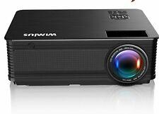 Full HD 1080P 6500 Lumens Home Theater Movie Video Projector HDMI USB Keystone