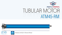 Somfy 406A2 Nouveau sonesse 40 Silencieux tubulaire Shade Moteur RTS 6//24 24 tr//min 1001637 A