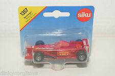SIKU 1357 RENNWAGEN RACING CAR RED MINT BOXED