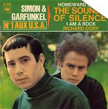 "7"" Simon & Garfunkel – EP: The  Sounds Of Silence / I Am A Rock +2 / French 1966"