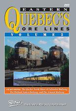 Eastern Quebec's Ore Lines Volume 2 DVD Pentrex NEW!