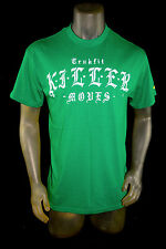"NEW TRUKFIT by LIL WAYNE YMCMB men short sleeve green ""KILLER"" TSHIRT  tee *M"