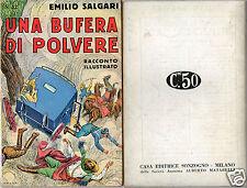 books emilio salgari racconti illustrati # 52 avventure first edition 1936 rare