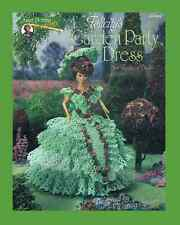 "Crochet doll dress pattern ""Felicity's Garden Party Dress""  Annie Potter"
