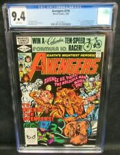 Avengers #216 (1982) Bronze Age Tigra Cover CGC 9.4 White Pages V391