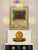 Dark Dugtrio 6/82 1st Edition LP/NM Near Mint Team Rocket Rare Holo Pokemon Card