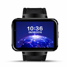 1x Lemfo LEM4 Bluetooth Wireless 4G SIM GPS SmartWatch cell Phone For Android