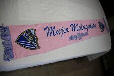 BUFANDA OFICIAL DEL MALAGA C.F DE LA MUJER MALAGUISTA MUY ESCASA COTIZADA  SCARF