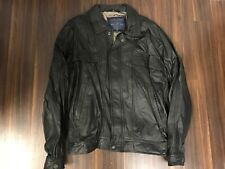 Members Only Club House Vintage Leather Jacket Mens Xlt Xl Tall Nwot New