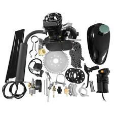 Black 2 Stroke 48cc 49cc 50cc Bicycle Petrol Gas Motorized Engine Bike Motor Kit