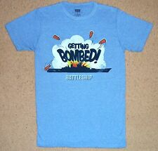 Battleship Getting Bombed Shirt Small Officially Licensed Board Game