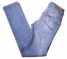 LEE Girls Jeans 13-14 Years W26 L31 Blue Cotton Straight Elly U007